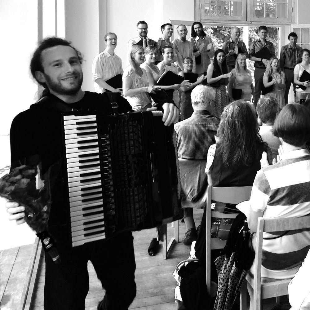 Choir and Accordion